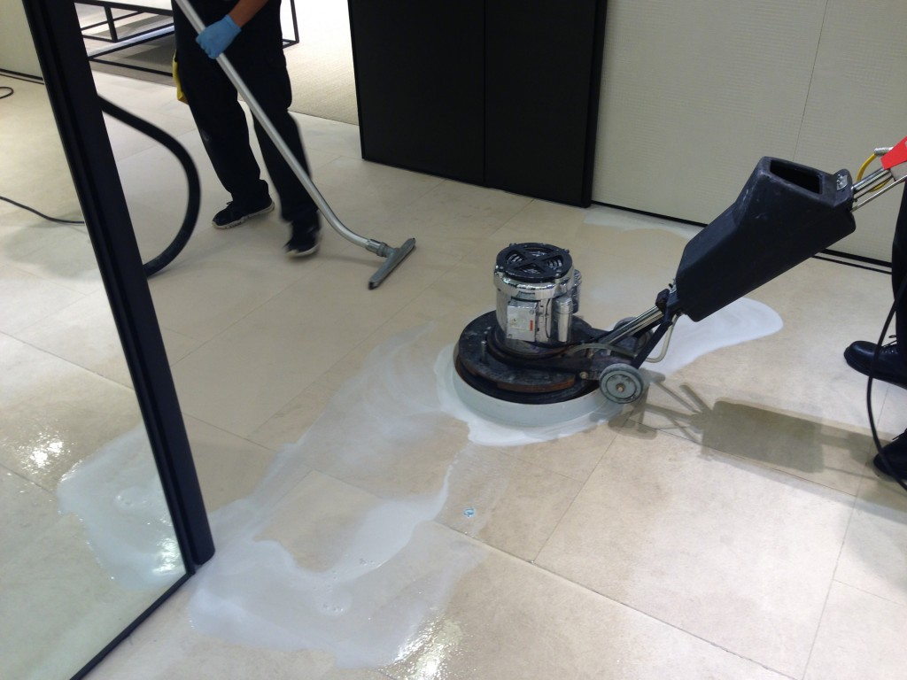 Vinyl Floor Polishing Striping Amp Waxing Services In